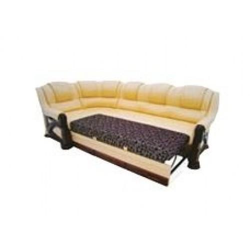 Угловой диван Клеопатра 3+1 в дереве