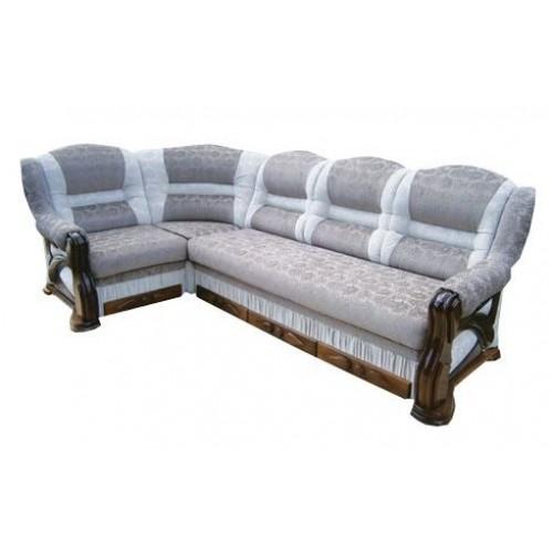 Угловой диван Премьер 3+1 в дереве